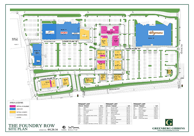 4.20.16 Foundry Row Site Plan (Russ)